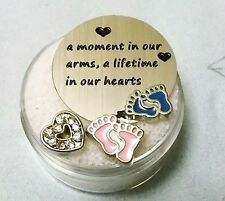 CLEARANCE-LOT #27 BABY LOSS MEMORY FLOATING CHARM SET FOR MEMORY LOCKETS