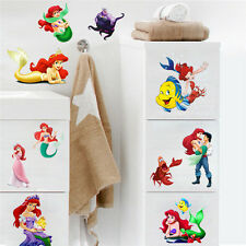 Cute Wall Sticker The Little Mermaid Ariel Princess Mural Vinyl Decals Kids Gift