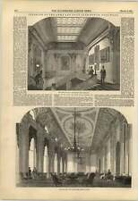1851 Interior Of The Army And Navy Clubhouse Pall Mall