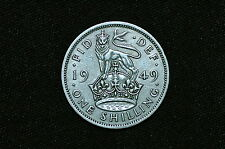 Great Britain 1 Shilling Coin, 1949