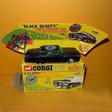 Vintage 60s CORGI 268 le green hornet black beauty voiture véhicule boxed rare
