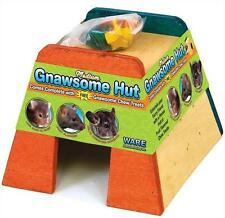 MEDIUM GNAWSOME HUT & FRUIT FLAVORED CHEW TREATS CHINCHILLA, RAT, HAMSTER, HOUSE
