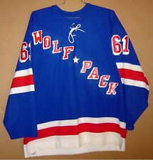 HARTFORD WOLF PACK BEN NELSON AHL GAME JERSEY