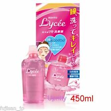 Rohto Lycee Medicated Eye Wash Liquid for Cleansing and Refresh 450ml NEW