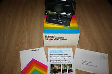 Vintage POLAROID SX-70 Land Camera SONAR OneStep Works!