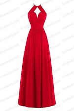 Long Chiffon Evening Gown Prom Cocktail PartyBridesmaid Formal Dresses 6-22