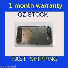 1xused iPhone 4S Metal Steel Bezel Frame Silver Middle Chassis Housing Plate