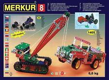 MERKUR M8 Huge Metal Construction Erector Set Czech Meccano 6.6kg 15lbs CHEAPEST
