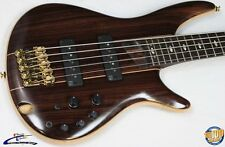 Ibanez SR1905E Premium 5-String Electric Bass w/ Gig Bag Natural NEW #34346
