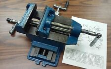 "4"" Cross Slide Vise X-Y axis,  4"" max. opening Heavy duty #850-CROSS-4-NEW"