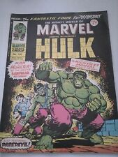 The Mighty World of Marvel Starring The Incredible Hulk Issue 105 UK Comic