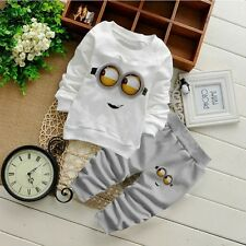 NEW! Baby boy cute Minion 2 pcs clothing set/outfit 6-12 month