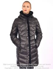~ Down Coat Jacket Parka Puffer w/ Mink Fur sz L US 10 EU 42  $895 Пуховик Норка