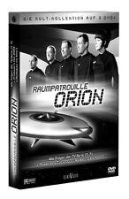 RAUMPATROUILLE ORION Raumschiff  DIETMAR SCHÖNHERR  3 DVD Sci-Fi Kult Box SERIE