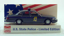 """Busch 1:87 49076 Ford Crown Victoria """"mississippi"""" (pa 3504)"""