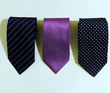 Gorgeous! Zilli 100% Silk Men's Ties Set of 3