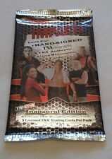 #REDUCED# TNA wrestling CARDS 2008 unopened packet VERY RARE TRISTAR WWE WWF WCW