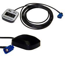 Antena GPS KFZ Coche Fakra Comand Navegador 3m Cable para Opel CD70 NAVI DVD90