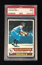WOW! - MINT PSA 9 - 1979 TOPPS #330 GEORGE BRETT *Perfectly Centered!*