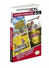 Nintendo 3DS Player's Guide Pack Prima Official Game Guide 4 guides in one