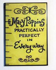 "Mary Poppins Tape Measure Practically Perfect 2"" x 3"" Fridge MAGNET art movie"