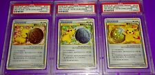 Pokemon Pikachu Victory Medal 1St 2Nd 3Rd Japanese Promo Psa 10 s 3 Card Lot Set