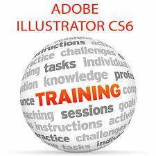 Adobe Illustrator CS6-Video Tutorial DVD de entrenamiento