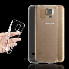 Funda Carcasa Clear Soft TPU Silicone Gel Case Cover For Samsung Galaxy S5 I9600