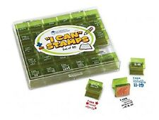 Learning Resources - 30 'I Can Stamps' Teacher Achievement Rubber Stamps & Case