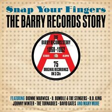 SNAP YOUR FINGERS-BARRY RECORDS STORY 1960-1962 3CD NEU BOBBY LEWIS/KATHY YOUNG