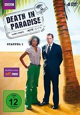 DEATH IN PARADISE - STAFFEL 1 4 DVD NEU