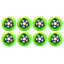 90mm Inline Skate Wheels for speed & Hockey (Draco-Pack of 8)