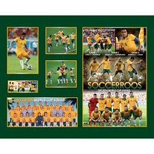 New Socceroos World Cup Squad Limited Edition Memorabilia Framed