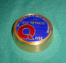 VINTAGE INTERNATIONAL COOPERATION TO SOLVE QUALITY PROBLEMS ICQC '78 TOKYO GOLD