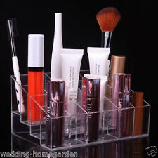 24Case Storage Display For Lipstick & Brush Holder Acrylic Cosmetic Makeup