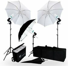 LimoStudio 840 Watt Photography/Video Portrait Umbrella Continuous Lighting Kit