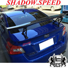 Carbon Fiber V Style Rear Trunk Spoiler Wing For SUBARU WRX STI  2012~15 Sedan ☢