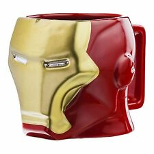 Official Marvel Avengers Iron Man 3D Sculpted Mug - Boxed Super Hero Cup Comics