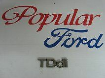 New Genuine Ford Focus TDdi Name Plate Badge - 1211631