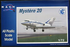 Mach 2 Models 1/72 DASSAULT MYSTERE 20 Air France