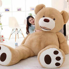 200cm 78'' Super Huge Teddy bear Plush Toy Shell Semi-finished (only Cover) Gift