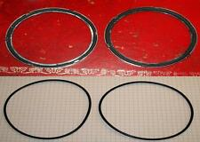ROVER P4 instrument to dash and glass to bezel seals (4).