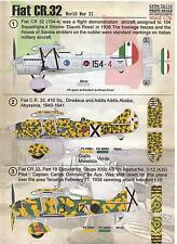 Print Scale Decals 1/72 FIAT CR.32 Italian Fighter