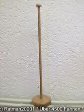 Tischflaggen Ständer aus Holz für eine Tischflagge 42 cm hohen