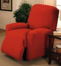 "JERSEY RECLINER COVER----LAZY BOY----  RED----""STRETCHES"" --10 COLORS & 3 PRINTS"
