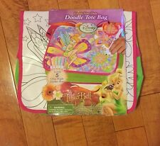 Disney Fairies Create Your Own Doodle Tote Bag Tinkerbell And The Lost Fairies