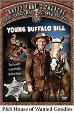YOUNG BUFFALO BILL Roy Rogers Dale Evans USED VERY GOOD DVD