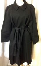 Chloe Trench coat Black With Tie Size 44