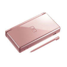 Nintendo DS Lite Console DSL Handheld Video Game System NDSL Metallic Rose