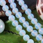 AAA 4mm-10mm Sri Lanka Moonstone Round Gemstone Loose Beads 15''